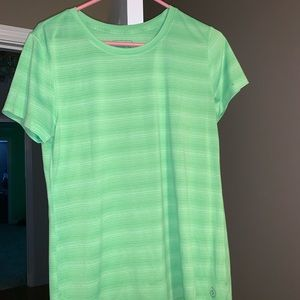 Tops - Green athletic T-shirt